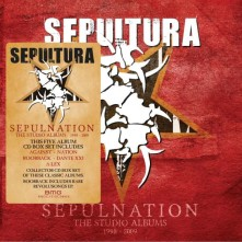 CD Sepulnation: The Studio Albums 1998 - 2009