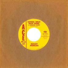 Vinyl MORGAN, ROCKET/JOHNNY BAS - 7-GONNA WALK BACK HOME