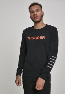 Crewneck Thugger Childrose, Muž, Čierna,