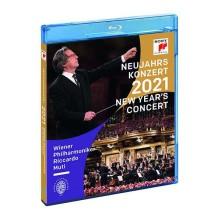 Blu-ray Neujahrs Konzert 2021 (New Year's Concert 2021) Wiener Philharmoniker Riccardo Muti