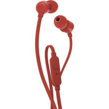 Slúchadlá JBL T110 Red