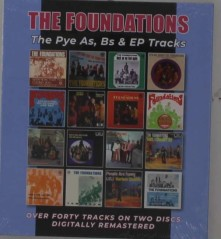 CD FOUNDATIONS - PYE AS, BS & EP TRACKS