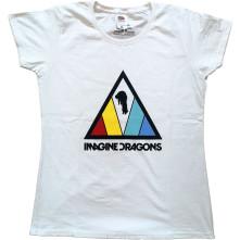 Tričko Triangle Logo, Žena, Biela,