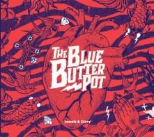 Vinyl BLUE BUTTER POT - JEWELS & GLORY