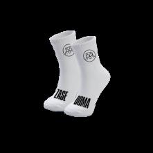 Ponožky Zasedoma, Biela,