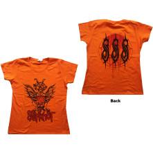 Tričko Winged Devil, Žena, Oranžová,