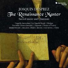 CD HILLIER, PAUL/PHILIPPE HE - JOSQUIN DESPREZ THE RENAISSANCE MASTER