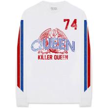 Tričko s dlhým rukávom Killer '74 Stripes, Unisex, Biela,