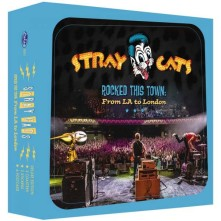 CD STRAY CATS - ROCKED THIS TOWN: FROM LA TO LONDON