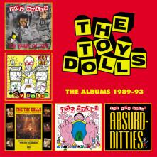 CD TOY DOLLS - ALBUMS 1989-93