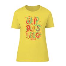 Tričko Trikolora, Žena, Žltá,