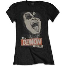 Tričko The Demon Rock, Žena, Čierna,