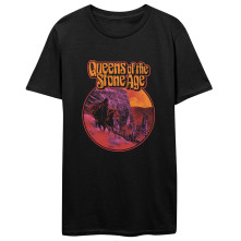 Tričko Hell Ride, Unisex, Čierna,