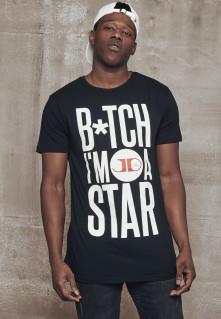 Tričko B*itch I'm A star tee, Muž, Čierna,
