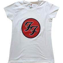 Tričko FF Logo, Žena, Biela,