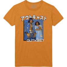 Tričko Blue Box, Unisex, Oranžová,