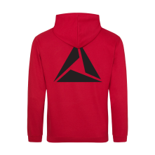 Mikina Logo Black print, Muž, Červená,