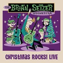 Blu-ray BRIAN SETZER ORCHESTRA - CHRISTMAS ROCKS! LIVE