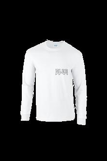 Tričko s dlhým rukávom GAUČ STORYTELLING, white, longsleeve, Muž, Biela, L