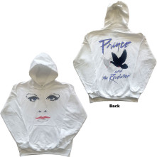 Mikina Faces & Doves, Unisex, Biela,