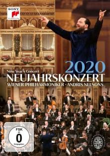 DVD WIENER PHILHARMONIKER - Neujahrskonzert 2020 / New Yea