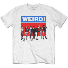 Tričko Weird, Unisex, Biela,
