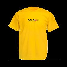 Tričko Delo, Muž, Žltá,