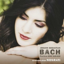 CD NOSRATI, SCHAGHAJEGH - BACH PARTITAS BWV 825-830