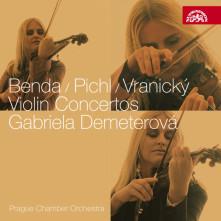 CD Benda, Pichl & Vranický: Houslové koncerty