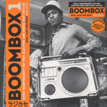 CD Boombox1: Early Independent Hip Hop, Electro and Disco Rap 1979-82
