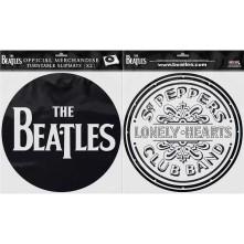 Podložka pod vinyl Drop T Logo & Sgt Pepper Drum