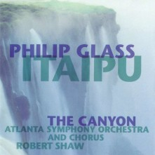 Vinyl GLASS, PHILIP - ITAIPU/CANYON