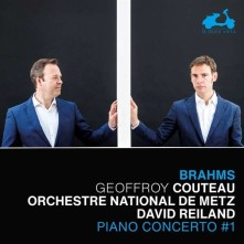 CD COUTEAU, GEOFFROY/ORCHEST - BRAHMS: PIANO CONCERTO NO.1/CHACONNE