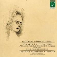CD ROTA, GIOVANNI/ENS. HORTE - GUIDO: SONATES A VIOLON SEUL (PARIS 1726)