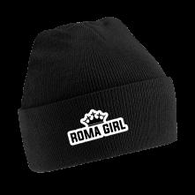 Čapica Roma Girl, Unisex, Čierna, Univerzálna