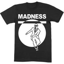 Tričko Dancing Man, Unisex, Čierna,