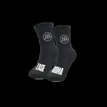 Ponožky Zasedoma, Čierna,