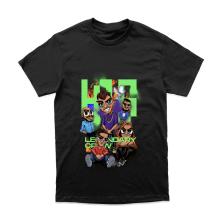 Tričko Legendary Crew, Unisex, Čierna,