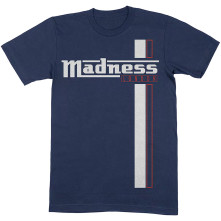 Tričko Stripes, Unisex, Modrá,