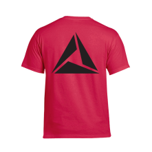 Tričko Logo Black print, Muž, Červená,