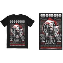 Tričko Bloody Santa, Unisex, Čierna, L