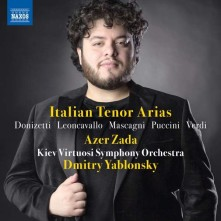 CD ZADA, AZER - ITALIAN TENOR ARIAS