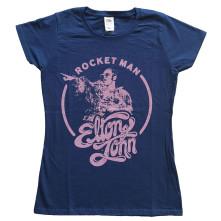 Tričko Rocketman Circle Point, Žena, Modrá,