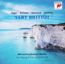 CD METAMORPHOSEN BERLIN - Elgar-Britten-Warlock-Jenkins: