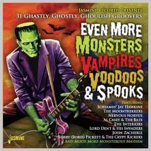 CD V/A - EVEN MORE MONSTERS, VAMPIRES, VOODOOS & SPOOKS