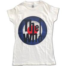 Tričko Vintage Target, Žena, Biela,