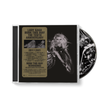 CD Born This Way the Tenth Anniversary