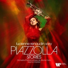 CD RENAUDIN-VARY, LUCIENNE - PIAZZOLLA STORIES