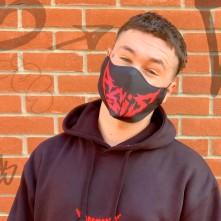 Maska ASIS, Muž, Čierna