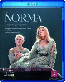 Blu-ray DIDONATO/RADVANOVSKY/CALLEJA/METROPOLITAN OPERA HOUSE ORCHESTRA/RIZZI - BELLINI: NORMA (MET LIVE RECORDING)